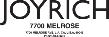 JOYRICH -7700 MELROSE-