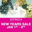 Make sure to celebrate the New Year right and take advantage of our 50% off Everything New Years Sale here at JOYRICH! Hope everyone has an amazing safe New Years!!!